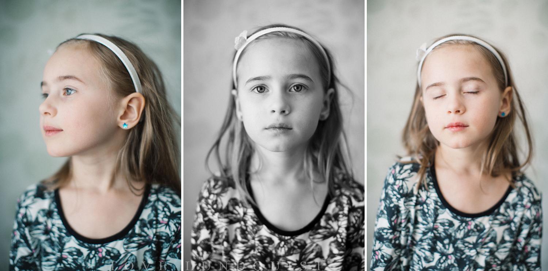 """Porträtt på barn under en """"Hemma hos"""" familjefotografering. Fotograf är Tove Lundquist."""