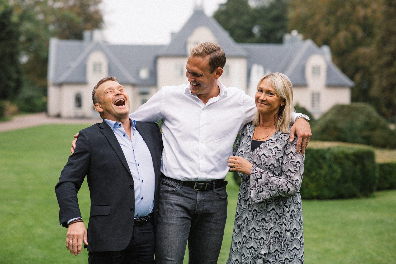 Familjen Ljungbäck, Norrgårdens Trädgårdar